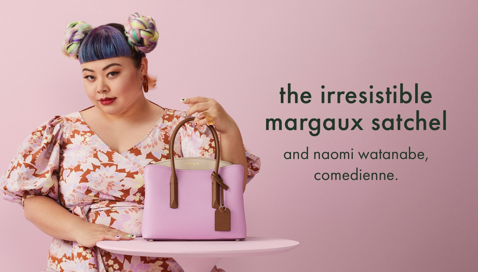 the irresistible margaux satchel
