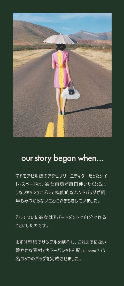 our story began when